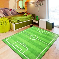 FUNS Sport Football Soccer Field Ground Room Bedroom