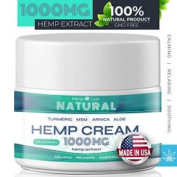 Premium Organic Hemp Extract Cream for Pain Relief