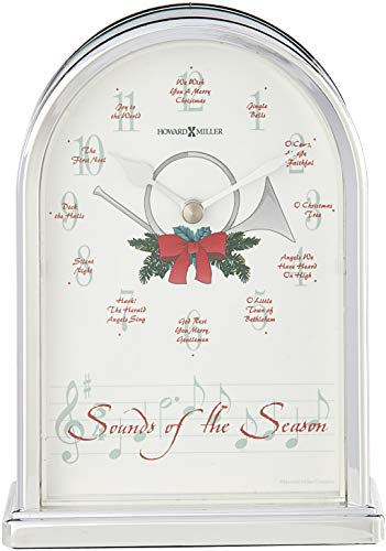 Howard Miller Sounds of the Season Christmas Clock by