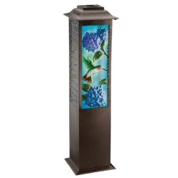 Regal Arts 42 Inch Solar Garden Hummingbird Lantern
