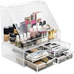 Sorbus Acrylic Cosmetics Makeup Organizer Storage