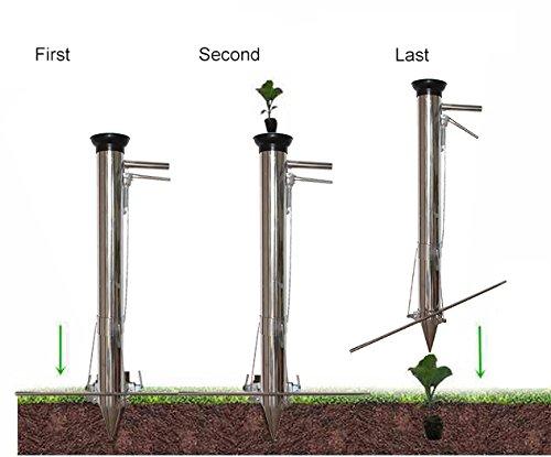 Novo Large Stainless Steel Transplanting Seedlings Tools