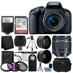 Canon EOS Rebel T7i 24.2MP Digital SLR Camera