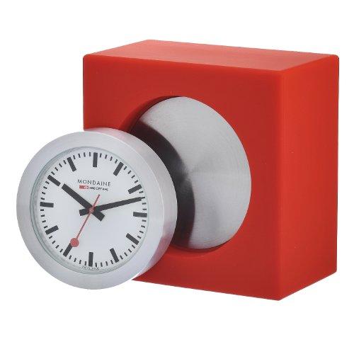 Mondaine Quartz Analog Watch Shelf Clock