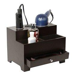 Stock Your Home Espresso Hair Care Organizer