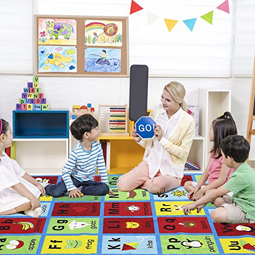 JACKSON Large5'0 x6'6 Collection ABC Fun Kids Rugs