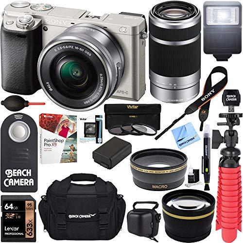 Sony Alpha 24MP Mirrorless Camera 16-50mm