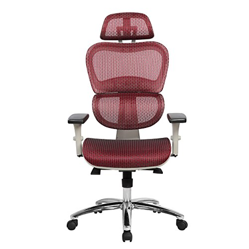 Techni Mobili -RED Office Chair, Red