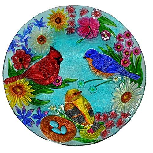 Continental Art 18'' Hand Painted Bluebird