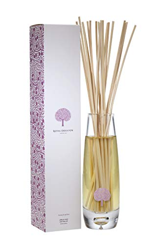 ROYAL DOULTON Luxury Reed Diffuser & Glass Vase Set