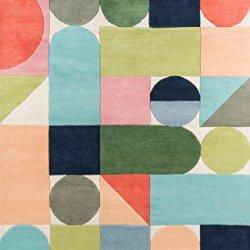 """Novogratz Delmar Collection Wright Area Rug, 5'0"""" x 8'0"""", Multicolor"""