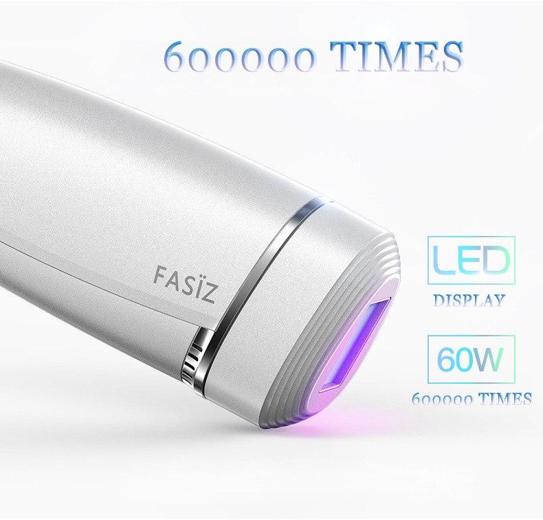 600000 Flash Permanent IPL Laser Hair Removal Machine Epilator 2 in 1 Women Lady Depilator Electric Shaver Body Hair Remover 7