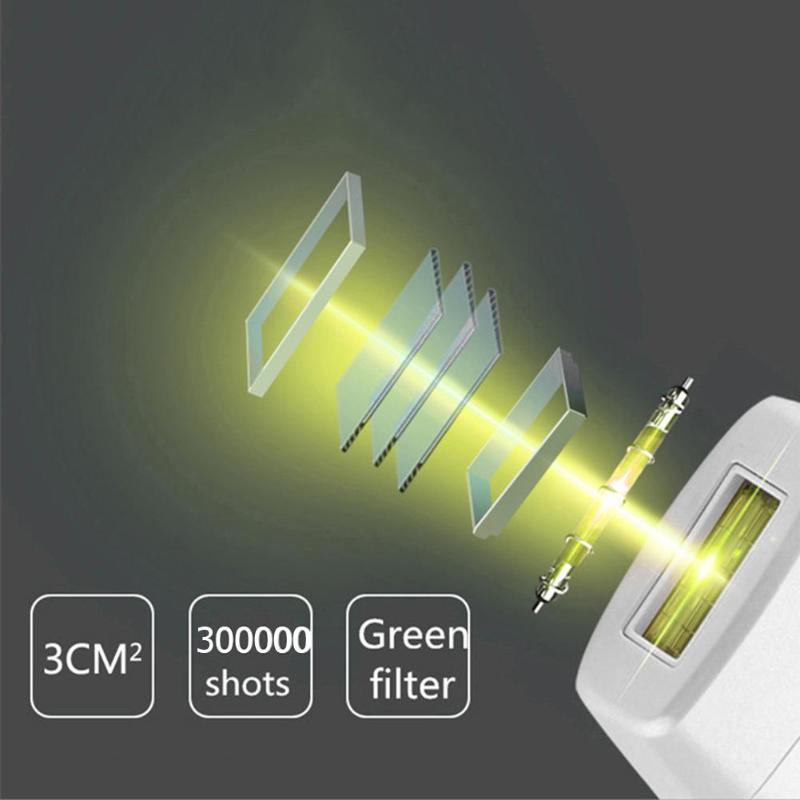 300000 Flash 5 Modes IPL Epilator Laser Hair Removal Machine Hair Epilator 23