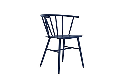 Novogratz Campbell Cottage Dining Chair, Metal Design