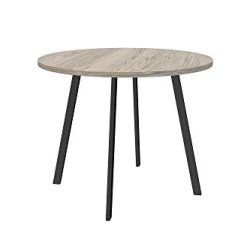 Novogratz Leo Farmhouse Round Dining Table