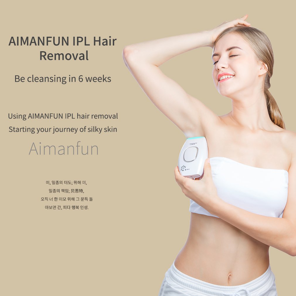 Laser Hair Removal Instrument Body Photon Underarm Private Parts Beauty Salon Hair Removal Equipment Personal Care Products 15