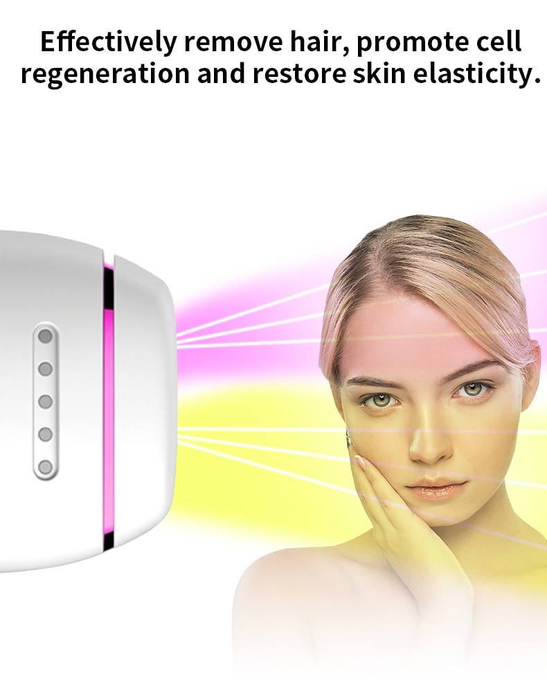 Laser Depilator Permanent Hair Removal IPL Epilator Touch Body Leg Bikini Trimmer Photoepilator For Women 7