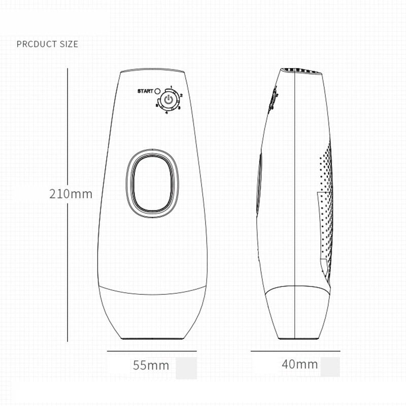 Laser Depilator IPL Epilator Permanent Hair Removal Touch Body Leg Bikini Trimmer Photoepilator For Women 14