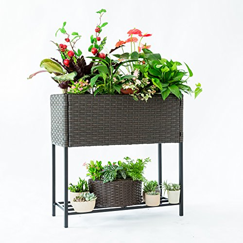 C-Hopetree Plant Stand Indoor Outdoor Flower Pot