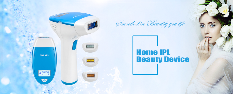 Mlay Portable home use skin rejuvenation ipl laser hair removal machine with hair removal lamp 300000 shots for Free Shipping 10