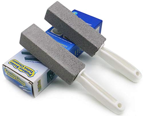 Pumice Cleaning Stone with Handle Toilet Bowl Cleaner Hard Water