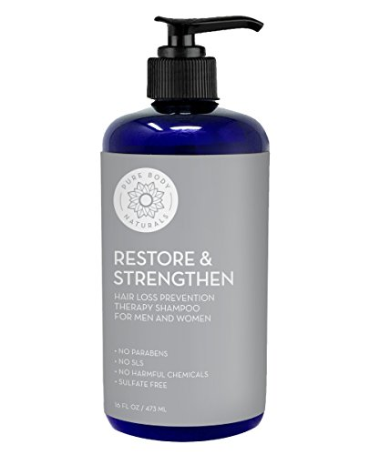 Hair Loss Shampoo to Restore and Strengthen, Large 16 Ounce