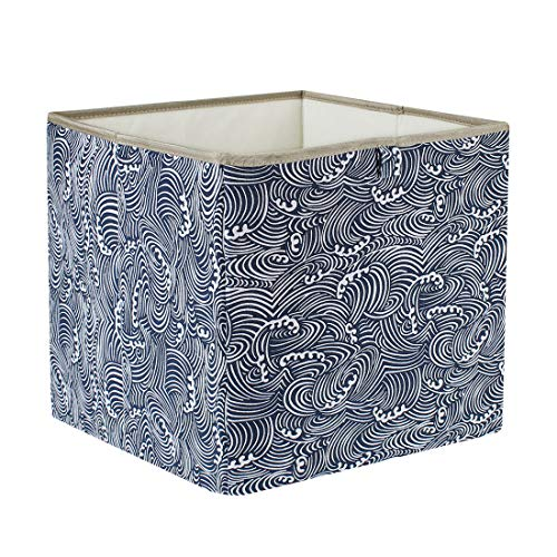 PICCOCASA Cloth Storage Bins,Flodable Cubes Box Baskets Containers