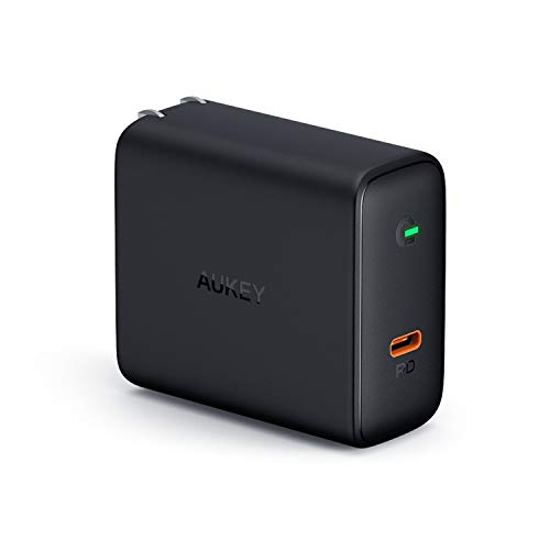 AUKEY USB C Charger 60W with Power Delivery 3.0 & GaN Power Tech