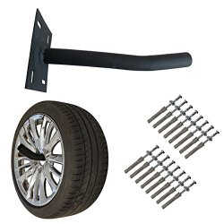 Wheel Hangers Set - Wall Mount Tire Rack Alternative