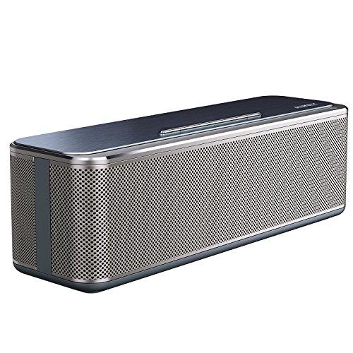 AUKEY Bluetooth Stereo Speaker 16W, Metal Wireless Speaker