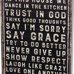 Primitives by Kathy Classic Box Sign, 15 x 19-Inches