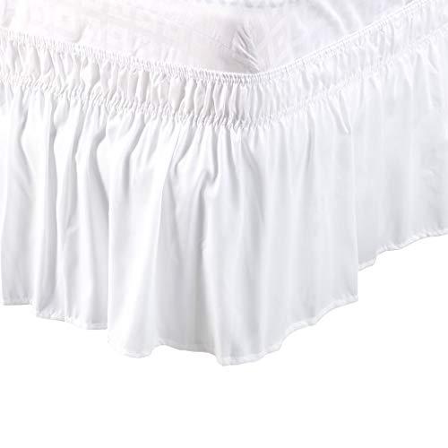 PiccoCasa PiccoCasa Detachable Bed Skirt