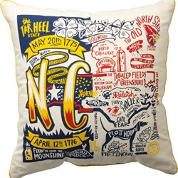 """Primitives By Kathy 20"""" Pillow North Carolina"""