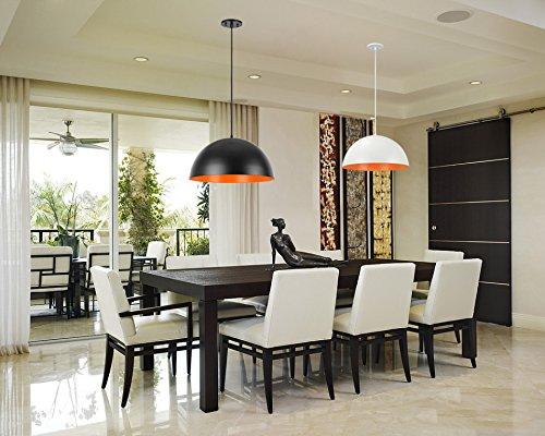 Aspen Creative Adjustable 1 Light Hanging Pendant Ceiling Light