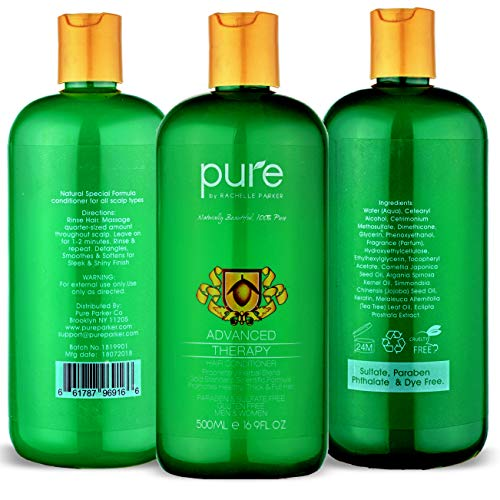 Natural Hair Growth Shampoo and Conditioner For All Hair Types Natural Hair Growth Shampoo and Conditioner For All Hair Types. Extra Strength Formula - Paraben & Sulfate Free Shampoo & Conditioner Set for Hair Loss & Thinning Hair.