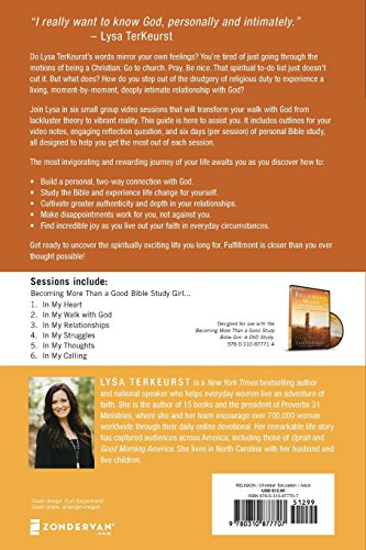 Becoming More Than a Good Bible Study Girl Participant's Guide Be part of bestselling writer Lysa TerKuerst for Becoming More Than A Good Bible Study Girl, a six-session small group Bible research that helps you determine commerce in going via the motions for the religious wholesome and vibrant life for which you lengthy.