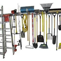 Holeyrail, Garage Organizer, Metal Pegboard, Commercial Quality