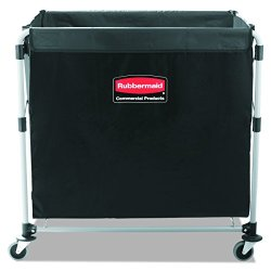 Rubbermaid Commercial Collapsible X-Cart, Steel