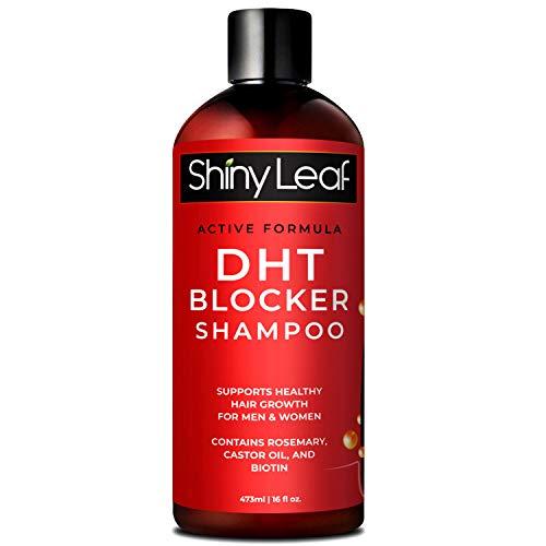 DHT Blocker Shampoo for Hair Loss, for Men & Women, Active Formula