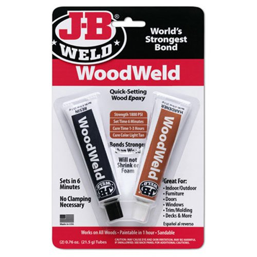 J-B Weld 2 Ounce Epoxy Adhesive, 2 Oz