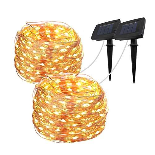 Davinci Solar String Lights - Decorative Outdoor Lighting for Deck