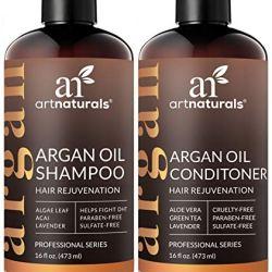 ArtNaturals Argan Hair Growth Shampoo & Conditioner Set