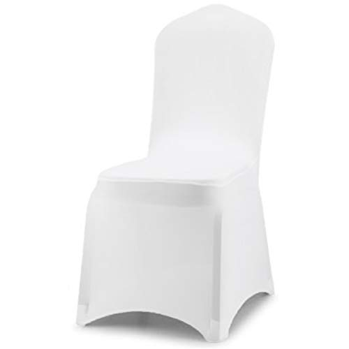 GWHome 100pcs Spandex Stretch Banquet Chair Cover