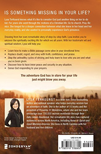 Becoming More Than a Good Bible Study Girl Is one thing lacking in your life?