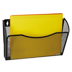 Rolodex Mesh Collection Single-Pocket Wall File