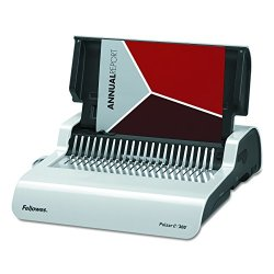 Fellowes Pulsar Electric Comb Binding System, 300 Sheets