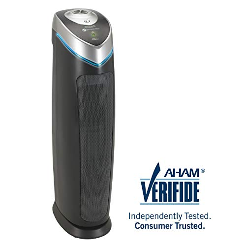 """Germ Guardian 28"""" 3-in-1 True HEPA Filter Air Purifier for Home"""