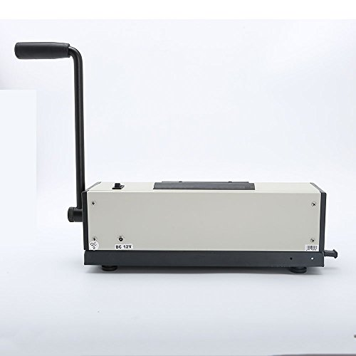Rayson Coil Binding Machine with Electric Coil Inserter The merchandise weight is 15.2 kilos and delivery weight is 17.eight kilos