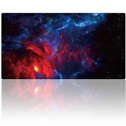 "AliBli Large Gaming Mouse Pad XXL Extended Mat Desk Pad Mousepad Long Non-Slip Rubber Mice Pads Stitched Edges 47.2""x15.7"" (120cm-40cm-031anying)"