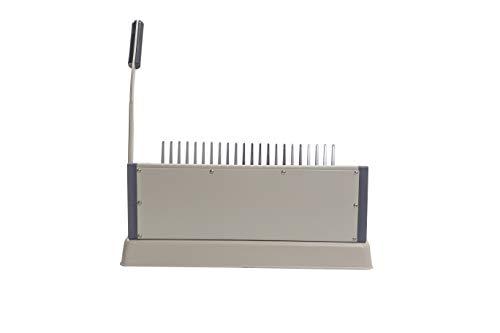 21 Hole Metal Binding Machine Comb Binding Manual Punch and Bind Operation 21 Hole Metal Binding Machine Comb Binding Manual Punch and Bind Operation Capacity:500 Sheets by BUYOR.